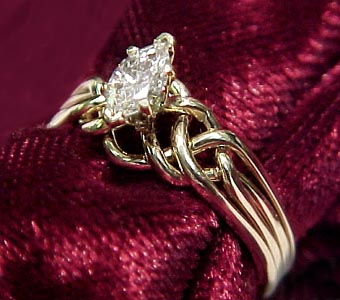 Puzzle Ring S Crafted By Norman Greene Puzzle Ring Artist